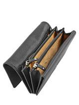 Wallet Leather Crinkles Black 14001-vue-porte