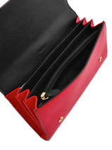 Purse Leather Dkny Red bryant park saffiano R2621103-vue-porte