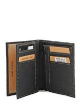 Wallet Leather Arthur et aston Black destroy 62-800-vue-porte
