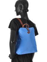 Backpack Jump Blue 6585-vue-porte