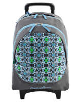 Wheeled Backpack Cameleon Blue basic BASBORR