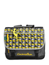 Cartable Cameleon Jaune basic BASCA35