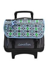 Cartable à Roulettes Cameleon Bleu basic BASCA38R