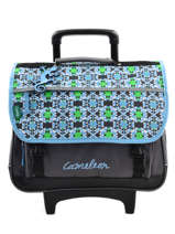 Wheeled Schoolbag Cameleon Blue basic BASCA41R