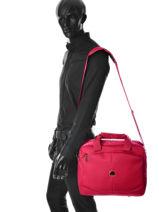 Messenger Bag Delsey Red ulite classic 3245190-vue-porte