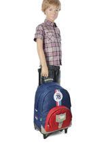 Wheeled Backpack Tann