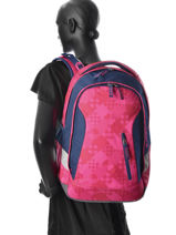 Backpack 1 compartment-SATCH-vue-porte