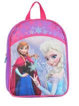 Backpack 1 Compartment Frozen Violet christal 13423