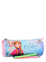 Trousse 1 Compartiment Frozen Multicolore anna et elsa 13426-vue-porte