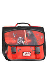 Cartable 3 Compartiments Star wars Noir the force awakens STD13027
