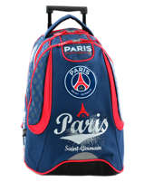 Sac à Dos à Roulettes 2 Compartiments Paris st germain Multicolore paris 163P204R