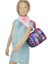Bag Chica vampiro Violet black pink 699TMF-vue-porte