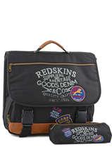 Cartable 2 Compartiments Avec Trousse Offerte Redskins Noir denim REY13004