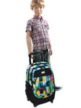 Wheeled Backpack Rip curl Multicolor photo vibes BBPFJ4-vue-porte