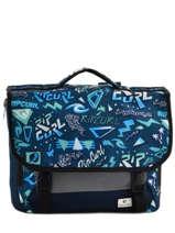 Cartable Rip curl Bleu neon vibes BBPFH4