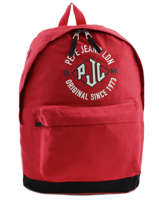 Backpack 1 Compartment Pepe jeans Red jackson 63923