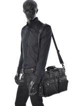 Briefcase Tumi Black alpha bravo 223640-vue-porte