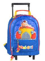 Wheeled Backpack Oui oui Multicolor car 1940CAR