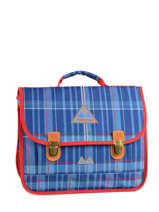 Satchel 2 Compartments Poids plume Blue be all over color PCO1535