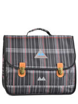 Satchel 2 Compartments Poids plume Gray be all over color PCO1541