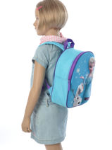 Backpack Frozen Blue 3d 182-6794-vue-porte