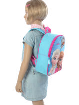 Backpack Frozen Blue 3d 182-7308-vue-porte
