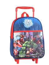 Wheeled Backpack Avengers Multicolor city 2024026