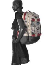 Sac à Dos Dakine Beige girl packs 1000-744-vue-porte