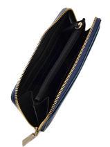 Wallet Leather Dkny Blue bryant park saffiano 62350606-vue-porte