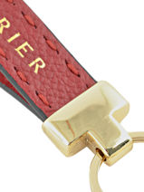 Key Holder Leather Etrier Yellow tradition EHER904-vue-porte