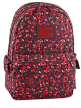 Backpack 1 Compartment Superdry Red top G91002JN
