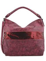 Besace Clarisse Miniprix Rouge clarisse K013