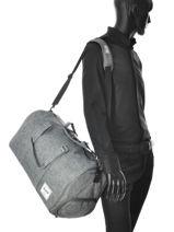 Travel Bag Supply Herschel Gray supply 10026-vue-porte