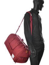 Sac De Voyage Supply Herschel Rouge supply 10026-vue-porte
