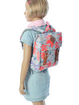 Sac à Dos Mini Herschel Gris youth 10142-vue-porte