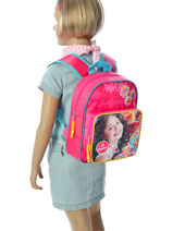 Backpack 1 Compartment Soy luna Multicolor be unique 95810SOY-vue-porte