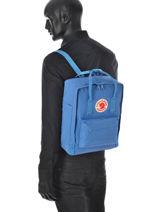 Backpack 1 Compartment Kånken Fjall raven Blue kanken 23510-vue-porte