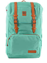 Backpack 1 Compartment Kuts Blue fashion FREE