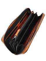 Wallet Leather Etrier Beige tess ETESS91-vue-porte