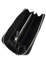 Wallet Leather Etrier Black manon EMAN91-vue-porte
