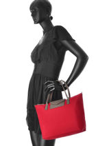 Shopping Bag Kba Lancaster Red kba 516-11-vue-porte