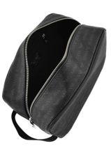Trousse De Toilette Armani jeans Noir logo all over 35-CC996-vue-porte