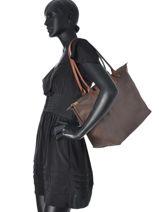 Longchamp Le pliage Hobo bag-vue-porte