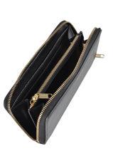 Portefeuille Cuir Repetto Noir coppelia M0395BCD-vue-porte