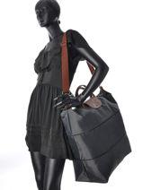 Longchamp Sacs de voyage Gris-vue-porte
