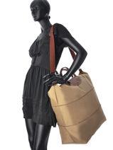 Longchamp Sacs de voyage Beige-vue-porte