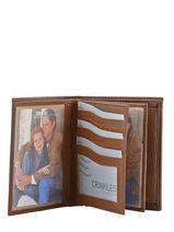 Wallet Leather Crinkles Brown caviar 14089-vue-porte
