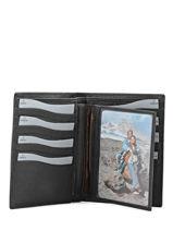 Wallet Leather Crinkles Brown caviar 14126-vue-porte