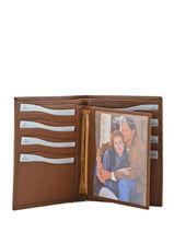 Wallet Leather Crinkles Brown 14126-vue-porte