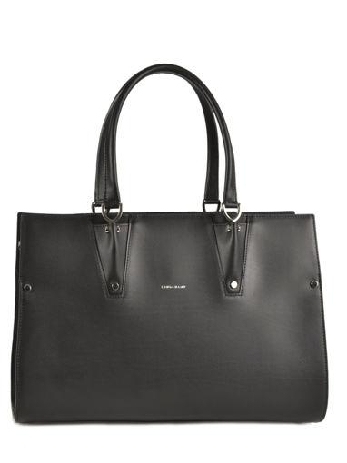 Longchamp Paris Premier Sac porté main Noir
